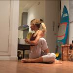 yoga para escoliosis ardha matsyendrasana