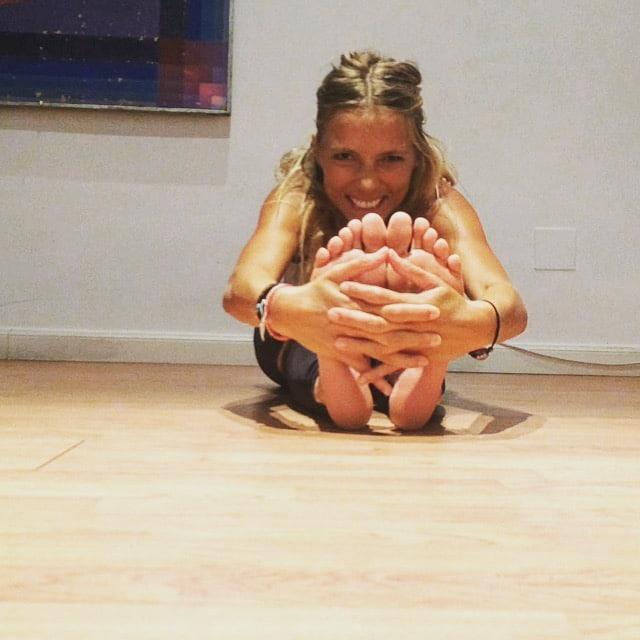 yoga para corredores PACHIMUTANASANA