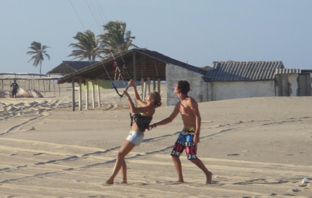 yoga y kitesurf