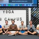 yoga para hombres postura de loto o padmasana