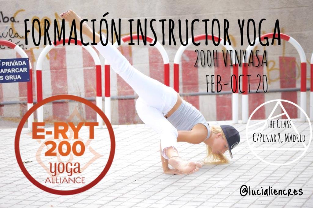 formación instructor yoga 200h
